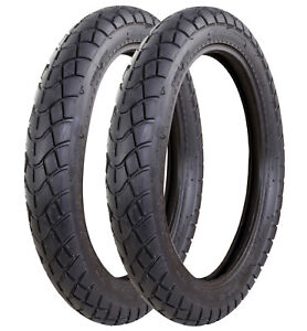 """NEW MOTORCYCLE MOTORBIKE 300-17"""" FRONT & REAR TYRE TUBE TYPE E-MARKED ROAD LEGAL"""