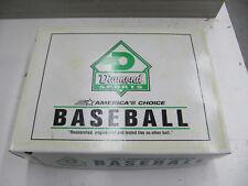 One Dozen Diamond Sports Official League Baseballs Model DOL-B