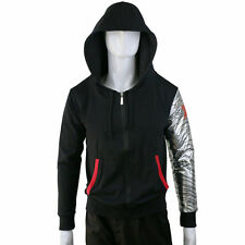 Bucky Hoodie Winter Soldier Zipper Hoodie Jacket Sweatshirt Cosplay Avenger New