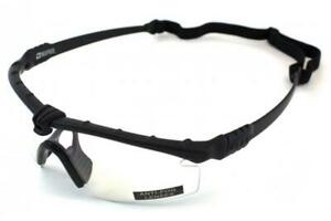 Airsoft Eye Pro Safety Glasses - Nuprol Battle Pro Meets CE EN166 Black / Clear