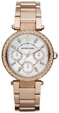 MICHAEL KORS MINI PARKER CHRONO WOMENS WATCH MK5616 MOTHER OF PEARL DIAL RRP£279