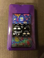 Small Lot Of Lisa Frank Stickers Angel Girl Lollipop Rainbows Diary Lock Key