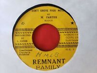 "45 RPM 7"" M FERGUSON M CARTER YOU IN THE MORNING DON'T GRIEVE YOUR MOTHER REGGAE"