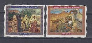 Algerien  537 - 38  Gemälde von Etienne Dinet     ** (mnh)