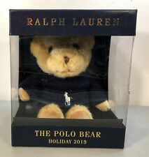 Ralph Lauren The Polo Bear Plush Holiday 2019 READ!