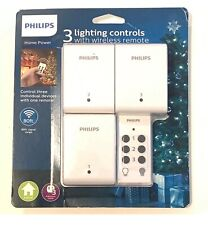 Philips Remote Control On/Off Light Control With 1 Transmitter/3 Receivers