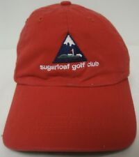 SUGERLOAF SKI/SNOWBOARDING MOUNTAIN GOLF CLUB MAINE BALL CAP VELCRO ADJ EUC