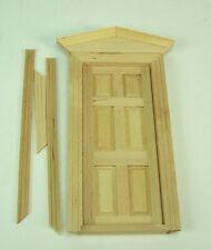 37,5x26 cm. Puppenstuben,1:12 Schaufenster aus unbehandelte Holz für Kaufladen