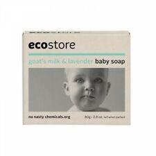 Ecostore Baby Soap goats lait et lavande sensibles hypoallergénique cruauté Grat...