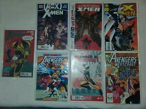 The Uncanny💥 X-Men, Avengers random marvel comics 7 book lot!!!