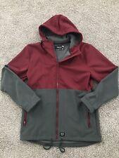 Mens Empyre Light Maroon Grey Ski Snowboard Jacket XL