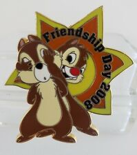 Disney Chip & Dale Friendship Day 2008 Le 1200 Pin-Free Shipping!