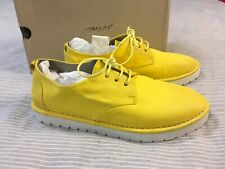 NEW Marsell Sancrispa Alta yellow leather lace up casual Oxford shoes 40 6,5 7