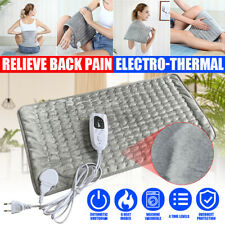 6 Modes Electric Heating Pad Heat Therapy for Neck Shoulder Back Auto Shut Off