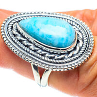 Larimar 925 Sterling Silver Ring Size 6.5 Ana Co Jewelry R58835F