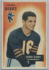 1955 Bowman Football  #62 George Blanda Chicago Bears NMT