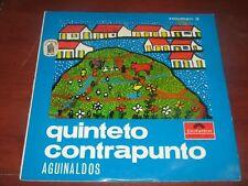 QUINTETO CONTRAPUNTO - AGUINALDOS VENEZOLANOS VOL.3  POLYDOR MONO 025  LP