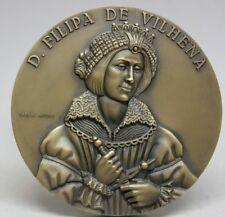 Portuguese Noblewomen Medal/ D FILIPA DE VILHENA 1640 Portuguese Restoration War