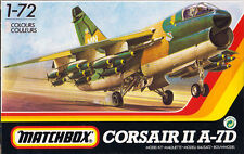 Corsair II a-7d - matchbox 40101, escala 1:72 rareza! Vought jet modellbau rar