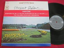 LP - BRUNO WALTER CONDUCTS HAYDN (1963) COLUMBIA MS 6486 STEREO 360 VG++