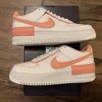"NEW Nike Air Force 1 Shadow ""Coral Pink Quartz"" Women Size 8W - 10W [CJ1641-101]"