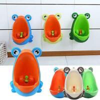 Frog Potty Wc Kinder Ausbildung Kinder Urinal Für Jungen Pee Badezimmer V9X0