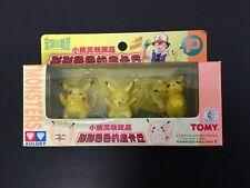 1998#AULDEY TOMY JAPAN POKEMON PLAYSET MINI FIGURE PIKACHU  JAPAN BOX RARE#NIB