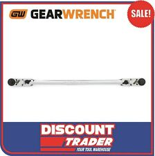 """GearWrench 81019 Long Multi Function Ratchet 1/4"""" Square & Hex Drive 12"""" 310mm"""