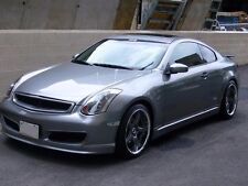 Fit Infiniti G35 03-07 Nismo style Urethane Front Bumper Body Kit Free Mesh