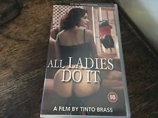ALL LADIES DO IT Claudia Koll and Paolo Lanza VHS VIDEO