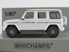 Minichamps 870 037402 Mercedes-Benz G 500 (2018) in weißmet.  1:87/H0 NEU/OVP