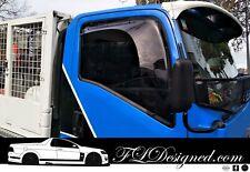 2008+ Isuzu F & N Series truck (& ELF) Monsoon Weather Shields /Rain guards 2pc