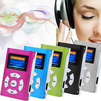 Portable Clip-on Mini USB MP3 Player LCD Screen Support 32GB Micro SD TF Card