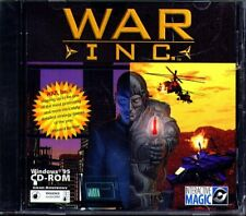 War Inc. (PC-CD, 1997) for Windows 95/98 - NEW CD in SLEEVE