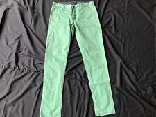 "Minimum 30"" Waist W30 Green Chino Trousers Regular Fit"