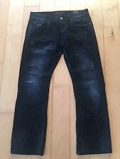 CULT OF INDIVIDUALITY MENS REBEL STRAIGHT JAPANESE DENIM JEAN 62N-252A 36 X 30.5