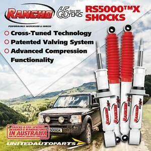 Front + Rear Rancho Shocks for Toyota Landcruiser Prado 150 NON KDSS 09-on
