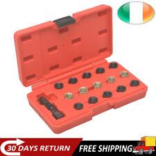 16 pcs Spark Plug Thread Repair Tool Kit M14x1,25 Garage Car Repairing Set New