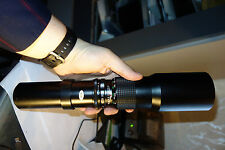 Danubia 500 8.0 lens for T2 mount great condition Japan