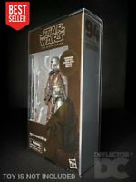 "DEFLECTOR DC® MIB DISPLAY CASE: Star Wars The Black Series 6"" Figure"
