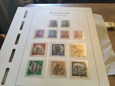 East Germany Used Stamps Sets Circ 1973