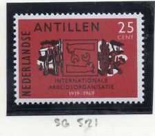 Dutch Antillen 1969 Early question fine Comme neuf charnière 25 C. 167748