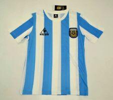 MAGLIA CALCIO RETRO ARGENTINA HOME 1986 10 MARADONA WORLD CUP DIEGO S-4XL PIBE