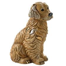 More details for de rosa golden retriever figurine f211 in branded gift box