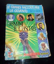 vecchio ALBUM FIGURINE PANINI UOMINI ILLUSTRI 1967