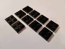 10 x LEGO® 15068 Systemstein,gewölbte Steine in 2x2x2//3 schwarz  Neuware