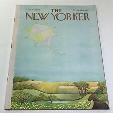 The New Yorker: May 13 1972 - Full Magazine/Theme Cover Ilonka Karasz