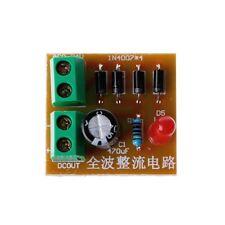 5 Pcs IN4007 Full Wave Rectifier Circuit AC To DC Power Supply Converter Kit DIY