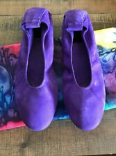 ARCHE (MADE IN FRANCE) LAIUS Purple suede ballet flats EURO 42M US 11 $345.00