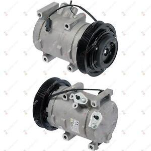Brand NEW A/C AC Compressor & Clutch Fits: 2008 - 2012 Honda Accord 3.5L